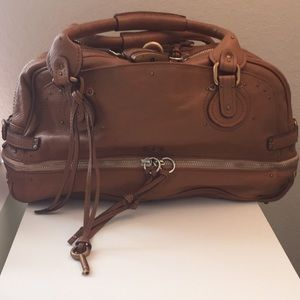 Chloe Paddington in saddle brown